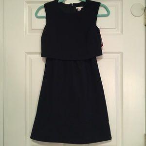 Xhilaration black mini dress